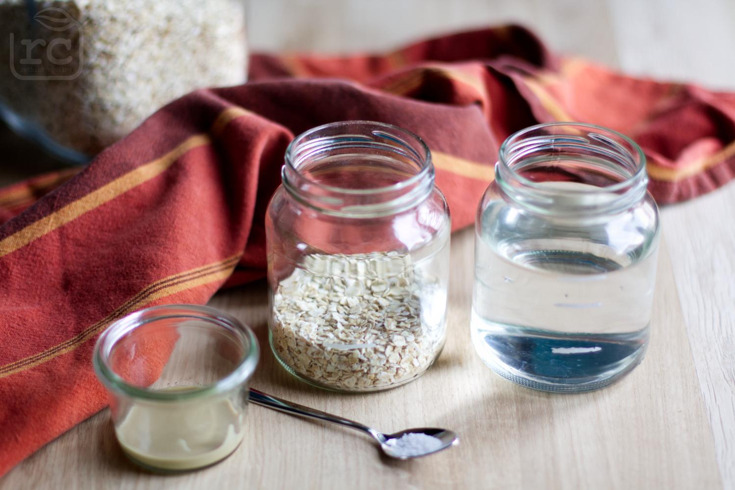 Zutaten für Porridge