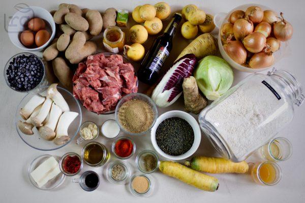 Saisonal und regional kochen - Rezepte zum Mitnehmen