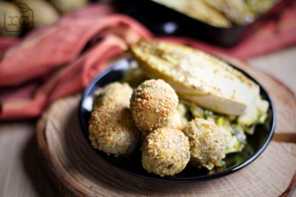 Rezept Ofen Chicoree Kartoffelbällchen
