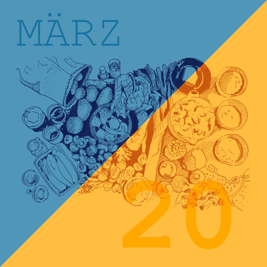 Saisonale und Regionale Rezepte für den Frühling März