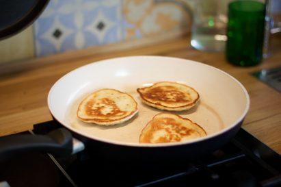 pancakes ohne ei