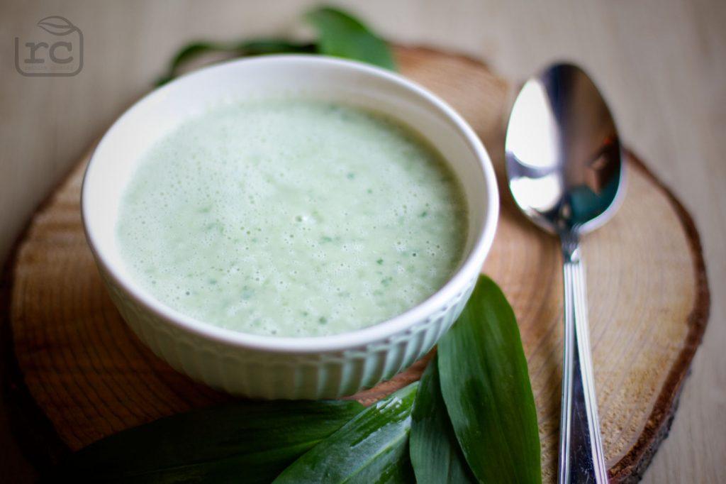 Rezept Baerlauch Topinambur Suppe
