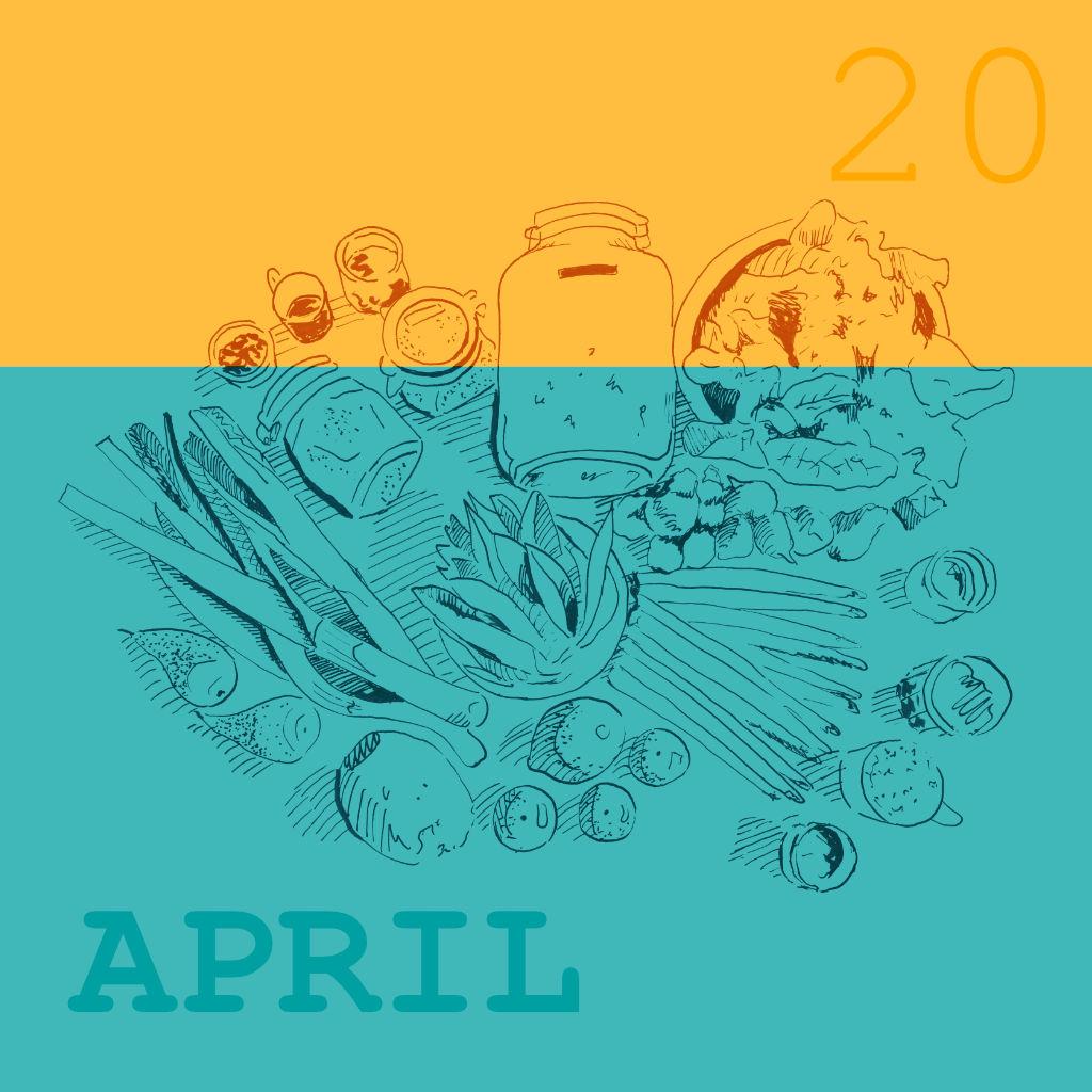 Saisonale und Regionale Rezepte für den April und die Spargelsaison