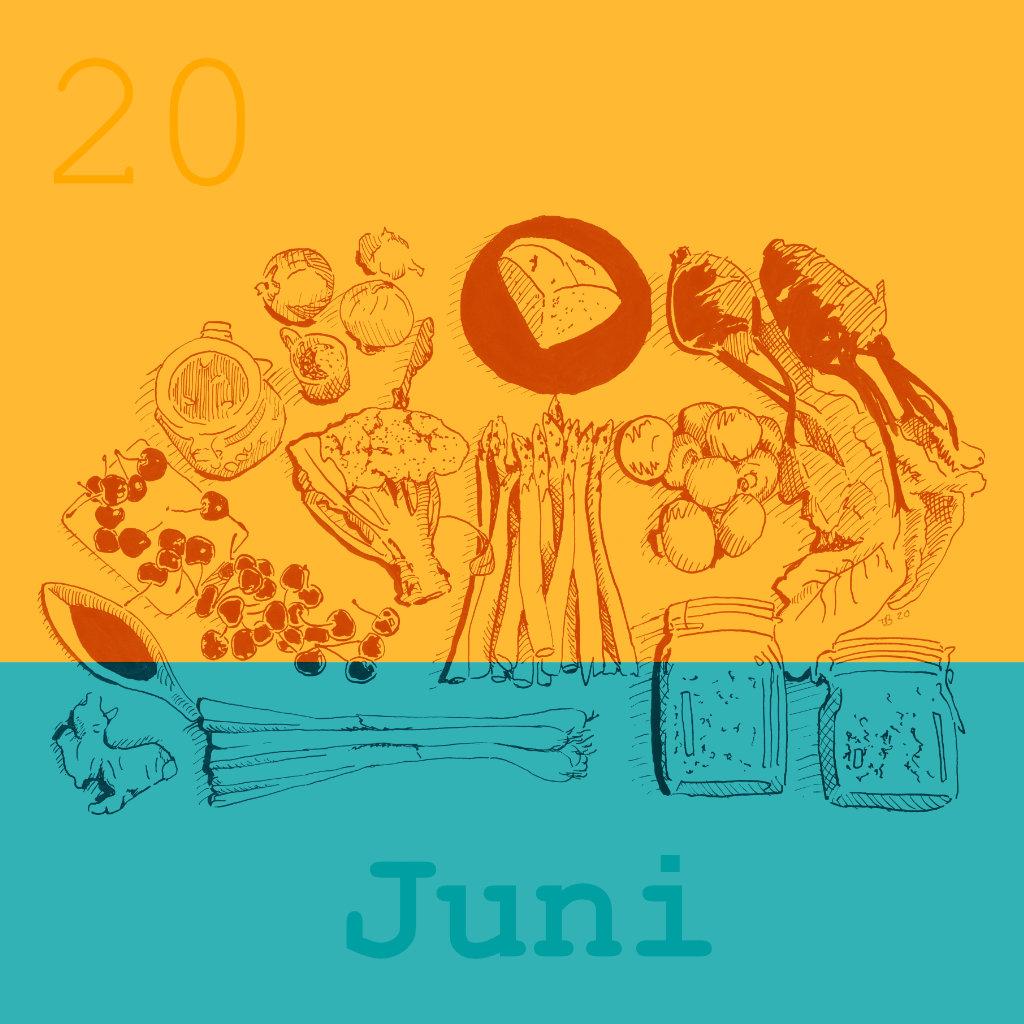 Saisonale Rezepte Juni