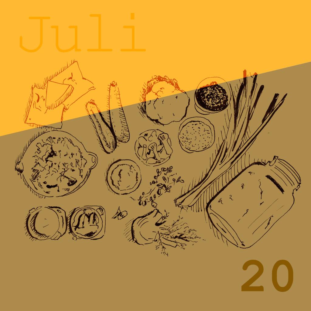 Saisonale Rezepte Juli