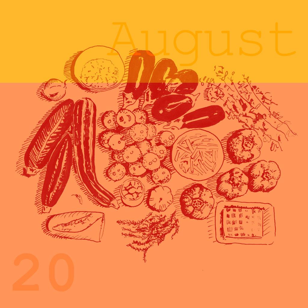 Saisonale Rezepte August