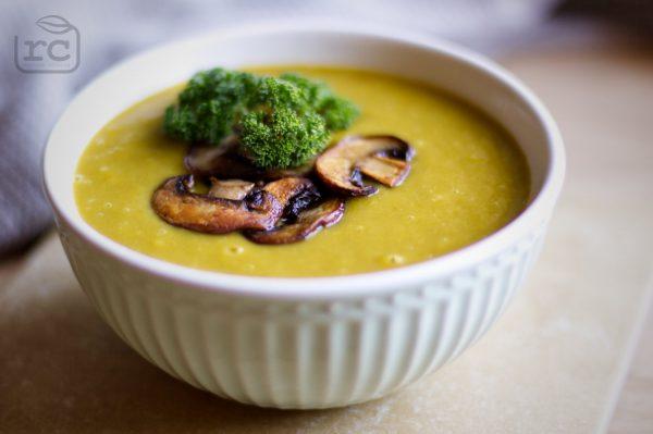 Karotten-Kartoffel-Lauch Suppe