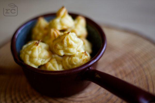 Herzoginkartoffeln aus Kartoffelpüree vom Vortag